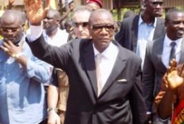 Après Gbéléban, Alpha Condé arrive à N'Zérékoré