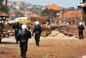 En Guinée, un niveau de violences politiques «inacceptable» (RFI)