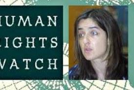 Une responsable de l'organisation de défense de droits humains Human Righ Watch chez Sidya