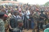 Depuis N'zérékoré, le président Condé met en garde les fauteurs de troubles