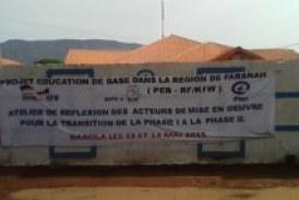 Dabola: Tenue d'un atelier de réflexion des acteurs de mise en œuvre pour la transition de la phase I à la phase II du (PEB)