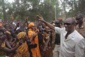 A Beyla, le président Condé dénonce l'attitude des ressortissants vivant à Conakry