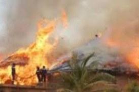 Dalaba : un feu mystérieux fait 1 mort et consume 15 cases