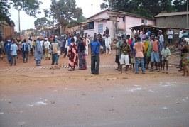 Des manifestation anti-Ebola signalées à Kamsar