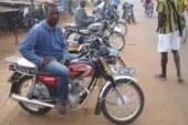 Mamou: Les conducteurs des taxi-moto paralysent la ville