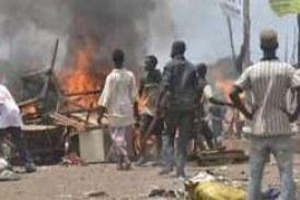 Kouroussa : Une gendarmerie saccagée par des jeunes en colère