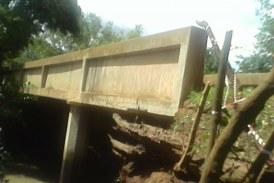 Infrastructure: Le pont de ''TINKISSO'' sur le point de céder