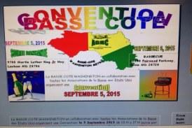 Convention de la Basse Guinée Amérique : Le 5- 6 septembre 2015 a Washington DC