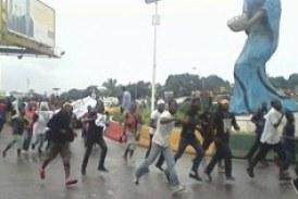 Aéroport de Conakry : Des partisans de Dadis dispersés par les forces de l'ordre