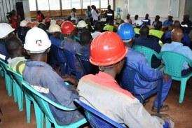 Cas des rails occupés par Bolloré : Le syndicat des travailleurs de RUSAL/CBK reçoit le soutien de leurs collègues des mines…