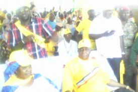 Dabola: La Fédération des Unions des Producteurs d'Arachide de la Haute Guinée (FUPAHG) soutient la réélection d'Alpha Condé