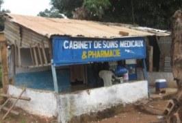 Kankan : Un ancien télé-centre transformé en cabinet de soins de santé et pharmacie