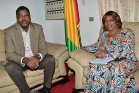 Le Président du CSC du Niger en visite de travail à Conakry