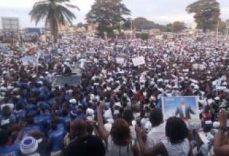 Conakry  bouclé par les hommes de Sidya Touré : un déferlement humain inédit