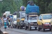 Fête de l'indépendance : Plusieurs véhicules bloqués à la rentrée de Mamou