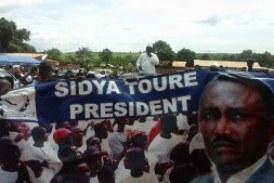 Le Président de l'UFR M. Sidya TOURE rentre de campagne ce Mercredi 7 Octobre 2015.
